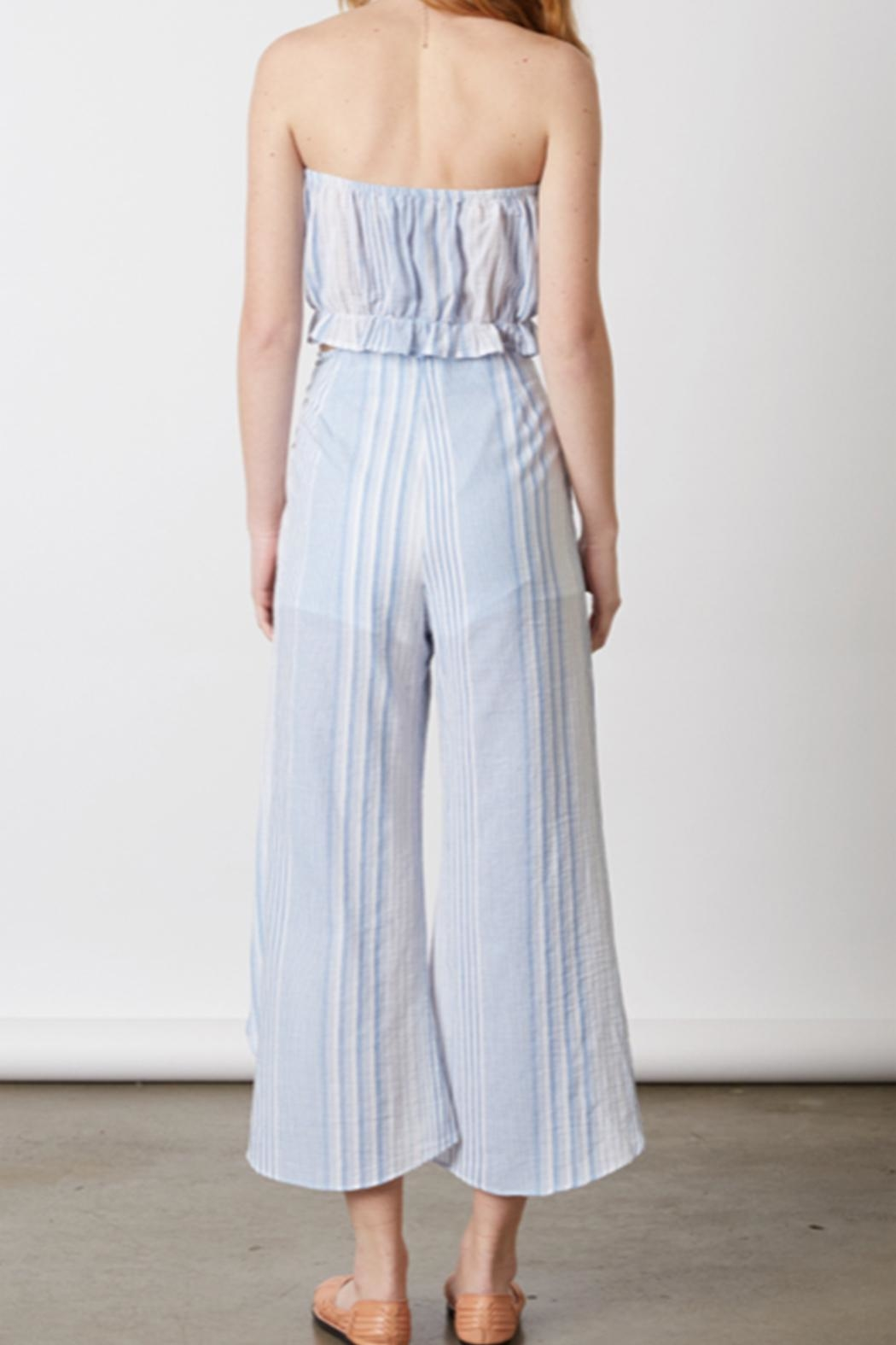 Cotton Candy Chambray Two Piece - Back Cropped Image