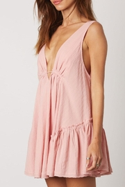 Cotton Candy Deep-V Swing Dress - Other