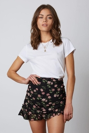 Cotton Candy Floral Mini Skirt - Product Mini Image
