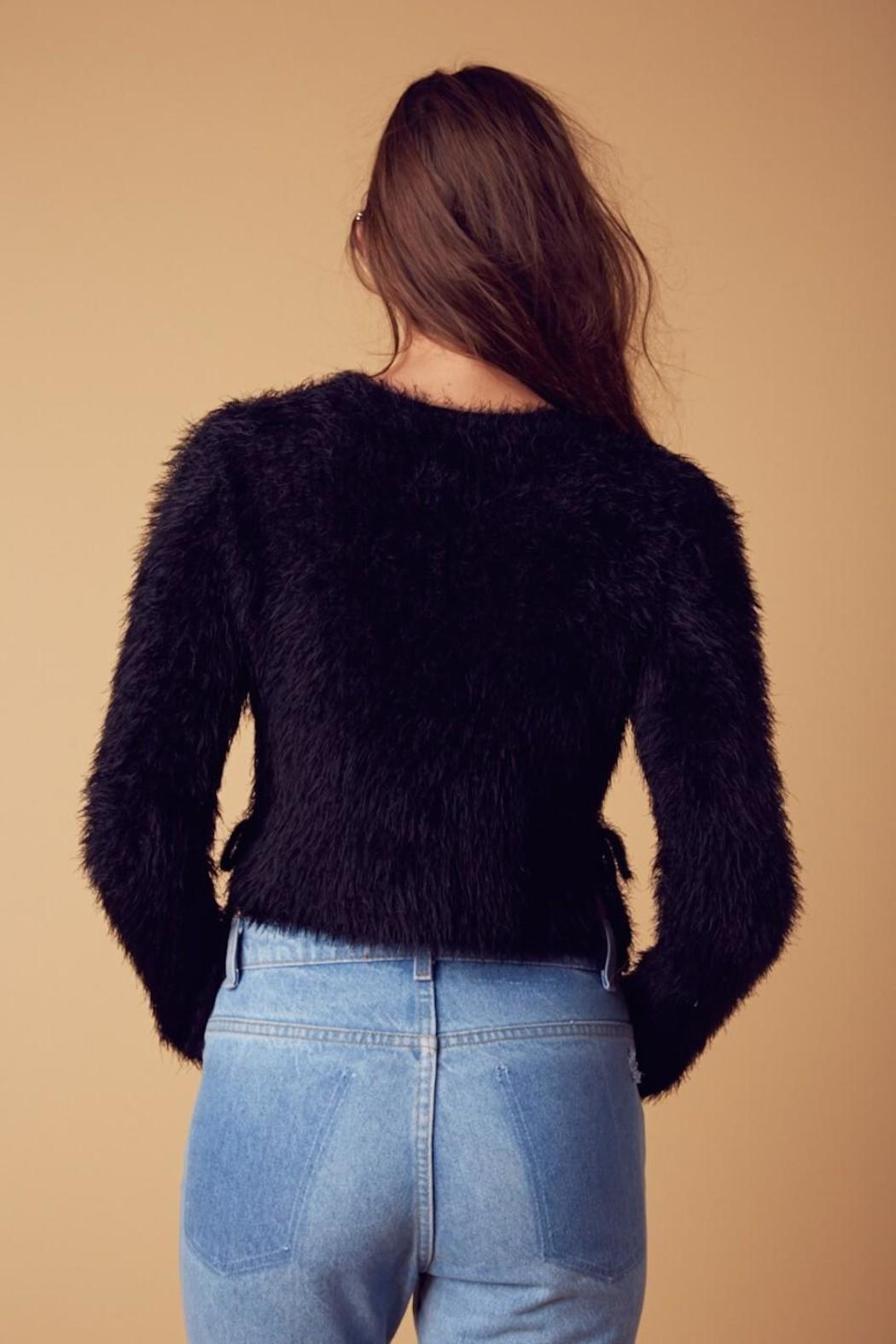 Cotton Candy Fuzzy Tie Pullover from New York by Lucia Boutique ...