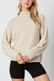 Cotton Candy High-Neck Sweater - Product Mini Image