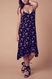 Cotton Candy Midi Floral Dress - Product Mini Image