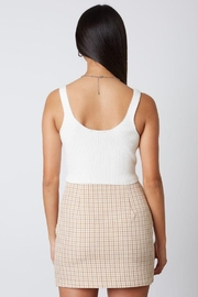 Cotton Candy Open Ribbed Sweater Tank - Other