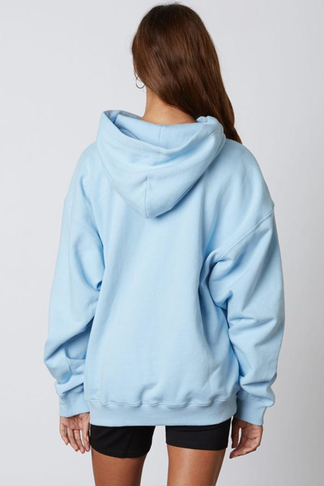 Cotton Candy Oversized Hoodie  Sweatshirt - Side Cropped Image