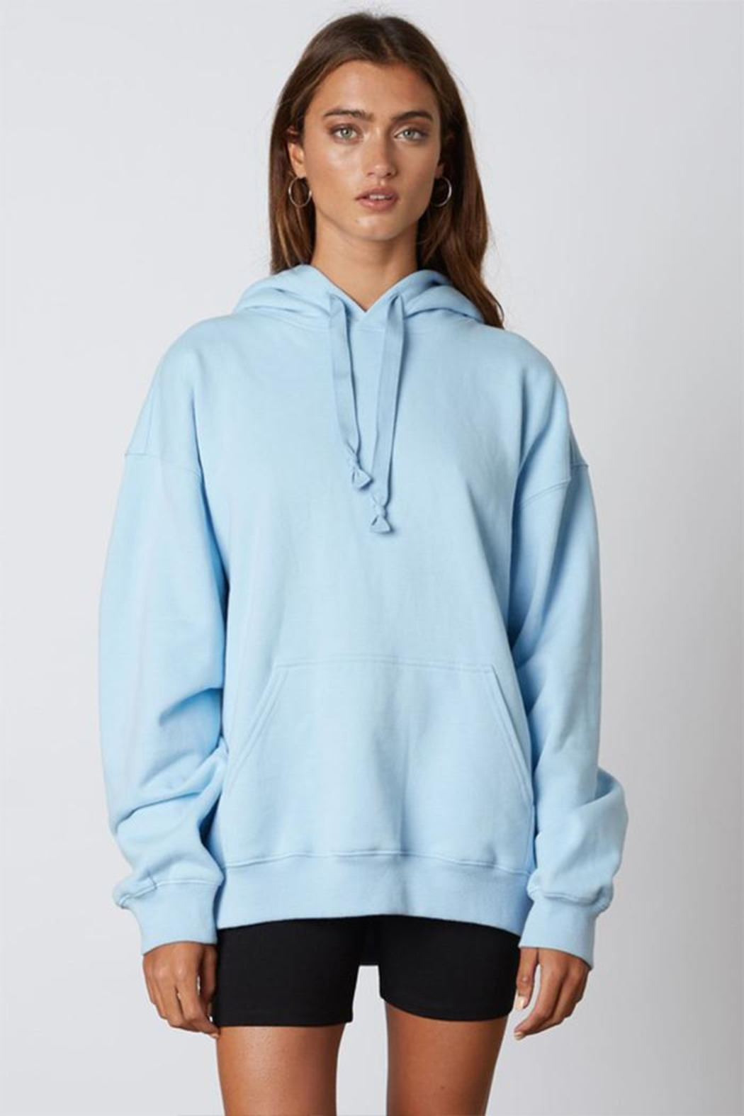 Cotton Candy Oversized Hoodie  Sweatshirt - Main Image