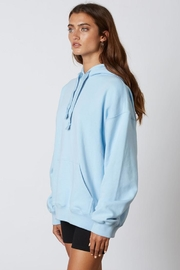 Cotton Candy Oversized Hoodie  Sweatshirt - Front full body