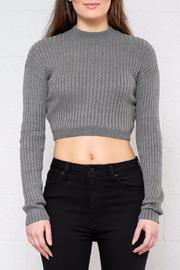 Shoptiques Product: Rib Cropped Sweater