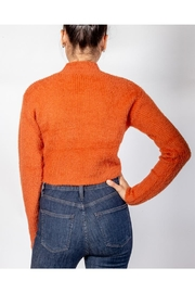 Cotton Candy Soft Front-Tie Sweater - Side cropped