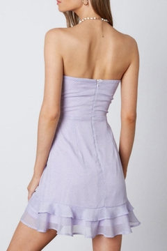 Cotton Candy Strapless Lilac Dress - Alternate List Image