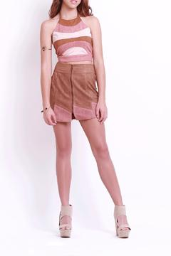 Shoptiques Product: Suede Halter Crop