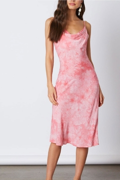 Cotton Candy Tie-Dye Midi Dress - Alternate List Image