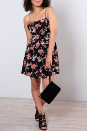 Cotton Candy LA Backless Floral Dress - Product Mini Image