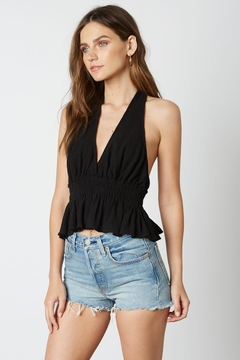Shoptiques Product: Black Halter Top