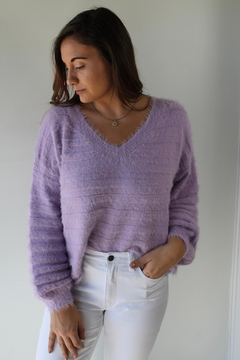 Cotton Candy LA Brecklyn Sweater - Product List Image