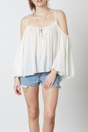 Cotton Candy LA Cold-Shoulder Blouse - Product Mini Image