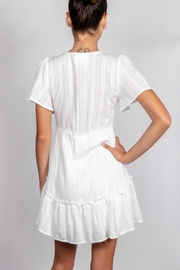 Cotton Candy LA Detailed-White-Tie Chest Dress - Other