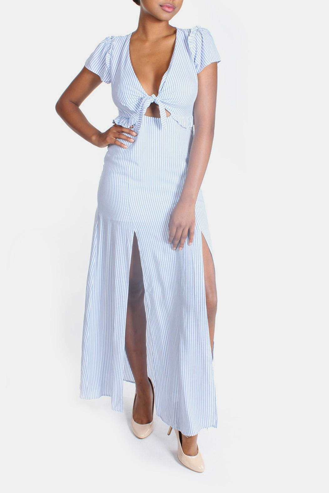Cotton Candy LA Harbor Cut Out Maxi - Main Image