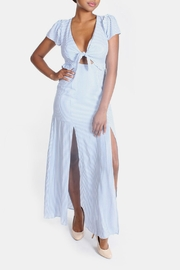 Cotton Candy LA Harbor Cut Out Maxi - Front cropped