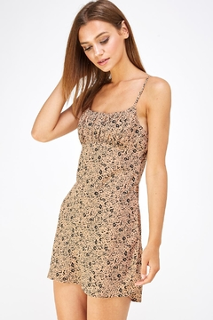 Shoptiques Product: Mocha Print Dress