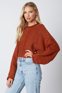 Shoptiques Product: Oversized Sleeve Sweater