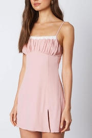 Cotton Candy LA Pink Mini Dress - Product Mini Image