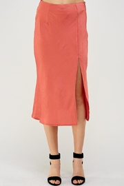 Cotton Candy LA Slit Midi Skirt - Product Mini Image