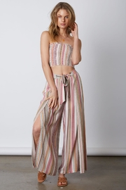 Cotton Candy LA Smocked Pant Set - Front cropped