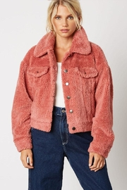 Cotton Candy LA Teddy Bear Jacket - Product Mini Image