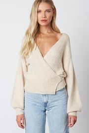 Cotton Candy LA Tie Back Sweater - Front full body