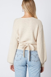 Cotton Candy LA Tie Back Sweater - Side cropped