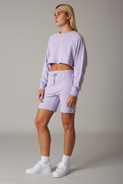 Cotton Candy LA Violet Short Set - Product Mini Image
