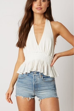 Shoptiques Product: White Halter Top