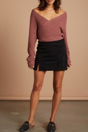 Cotton Candy LA Wrap Around Sweater - Product Mini Image