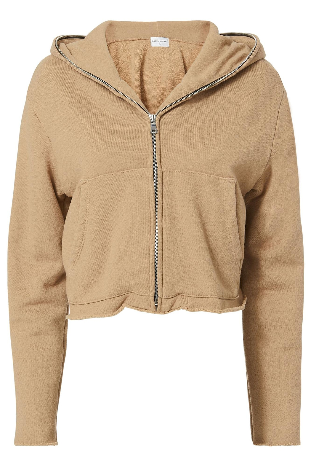 Cotton Citizen Manhattan Zip Hoodie - Back Cropped Image