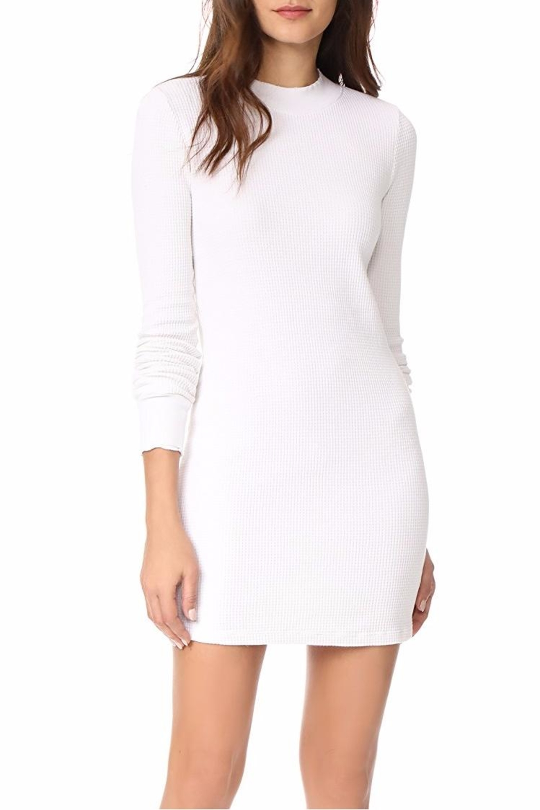 Cotton Citizen Monaco Thermal Mini Dress - Side Cropped Image