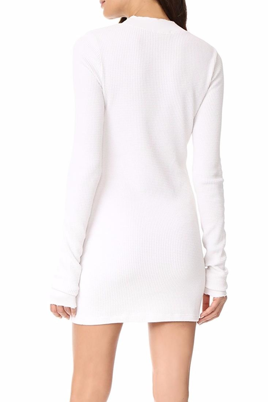 Cotton Citizen Monaco Thermal Mini Dress - Front Full Image