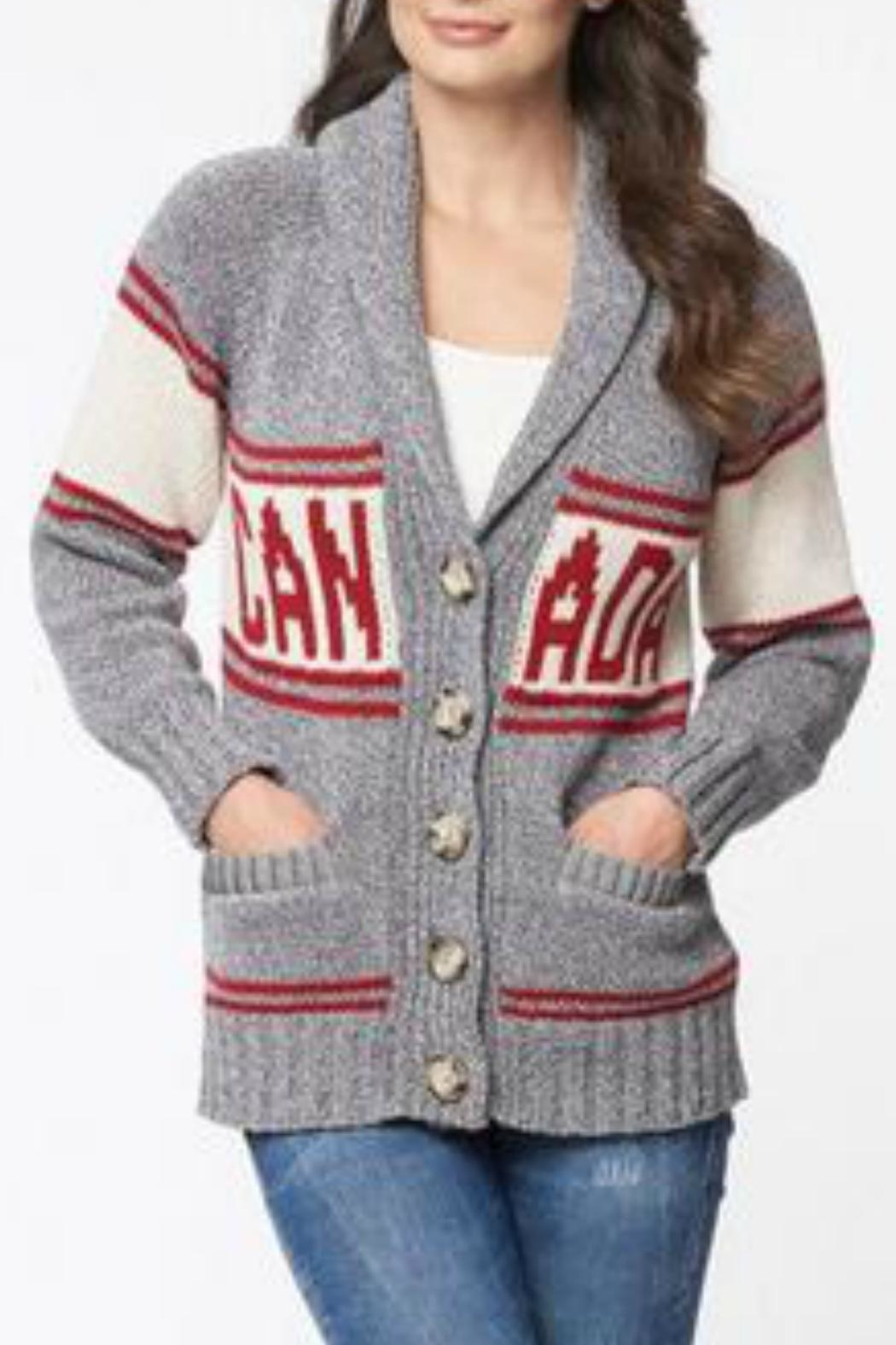 Cotton Country Cotton Knit Cardigan - Main Image