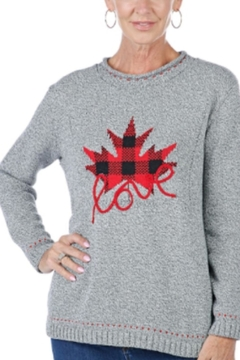 Cotton Country Love Canada Swater - Alternate List Image