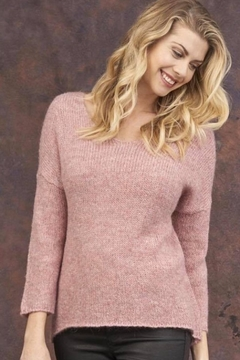 Cotton Country Soft Pink Sweater - Alternate List Image