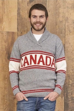 Cotton Country Unisex Canada Sweater - Alternate List Image