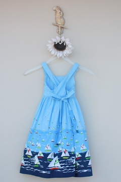 Cotton Kids Sailboat Sundress - Alternate List Image