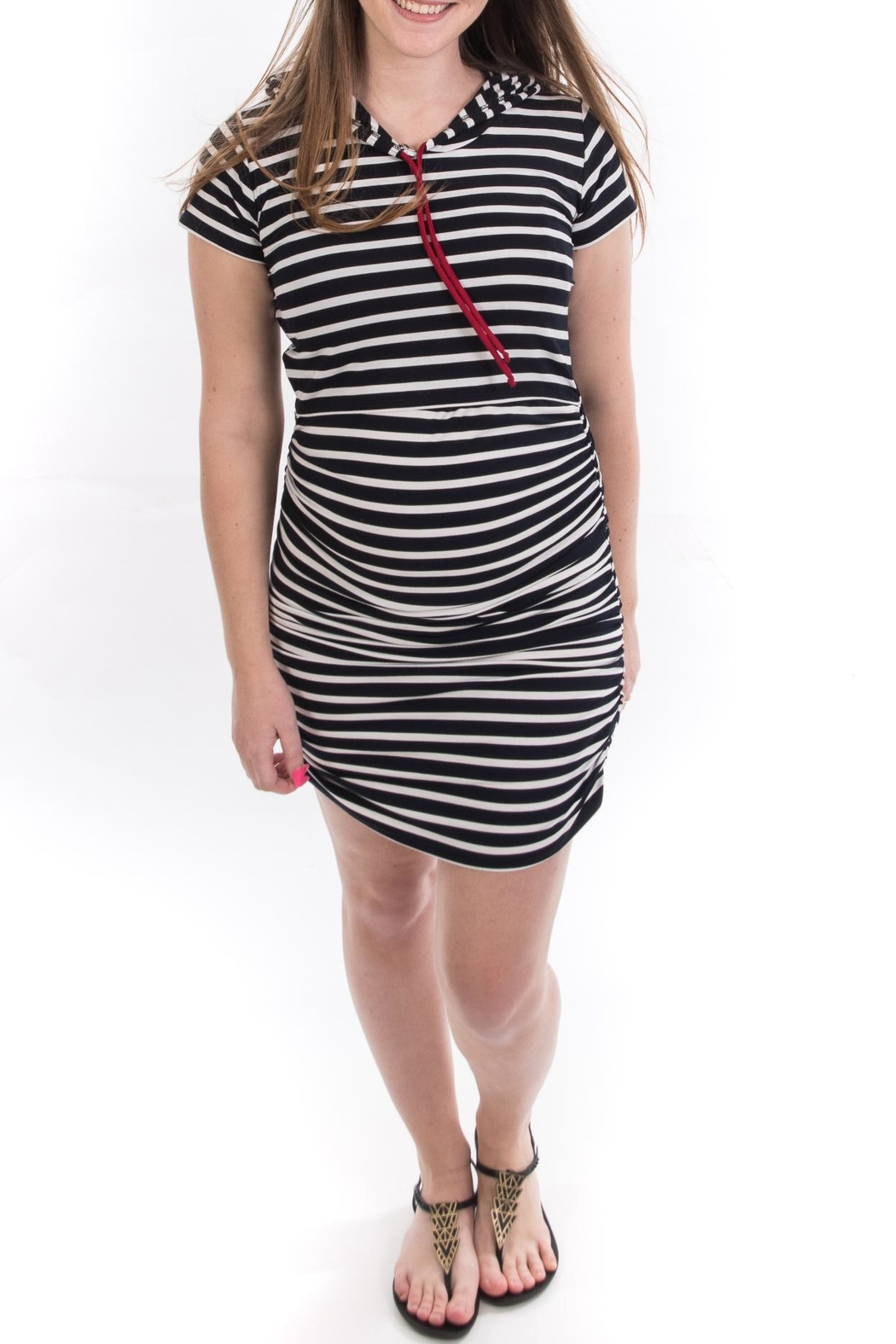 Bellybedaine Coucou Stripe Dress - Main Image