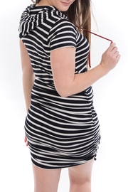 Bellybedaine Coucou Stripe Dress - Side cropped