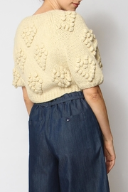 Callahan Couer Cropped Sweater - Front full body
