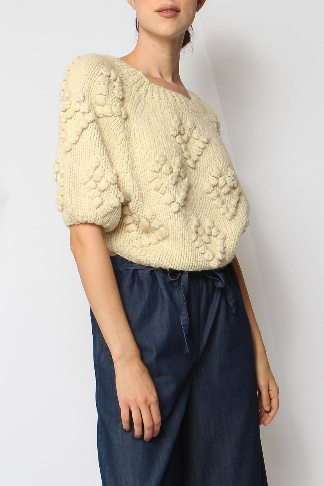 Callahan Couer Cropped Sweater - Main Image