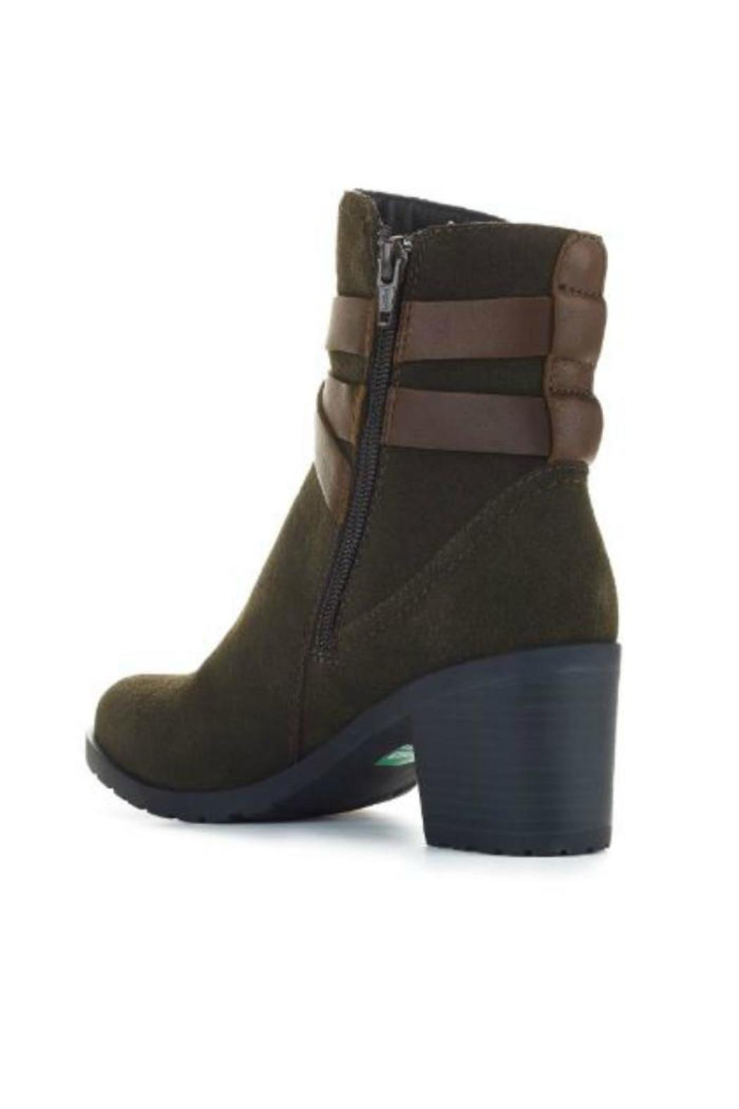 Cougar Belted Ankle Boot - Back Cropped Image