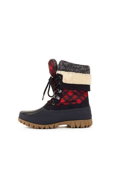 Shoptiques Product: Creek Plaid Boot
