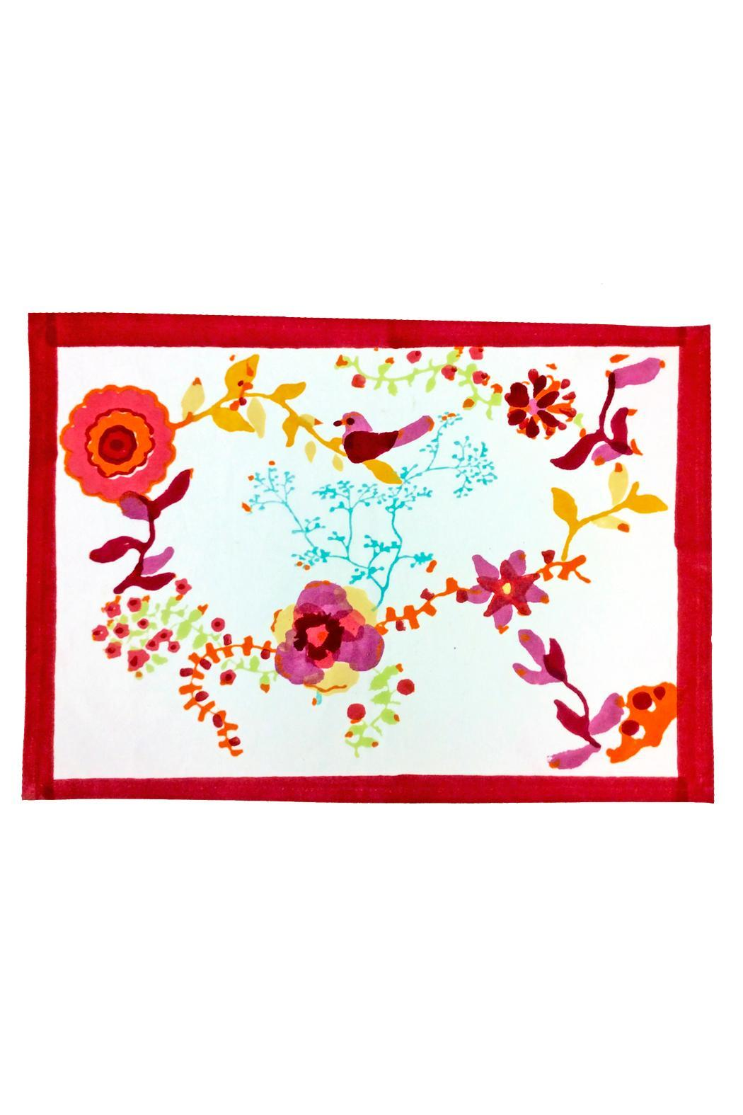 couleur nature block printed placemat from california by. Black Bedroom Furniture Sets. Home Design Ideas