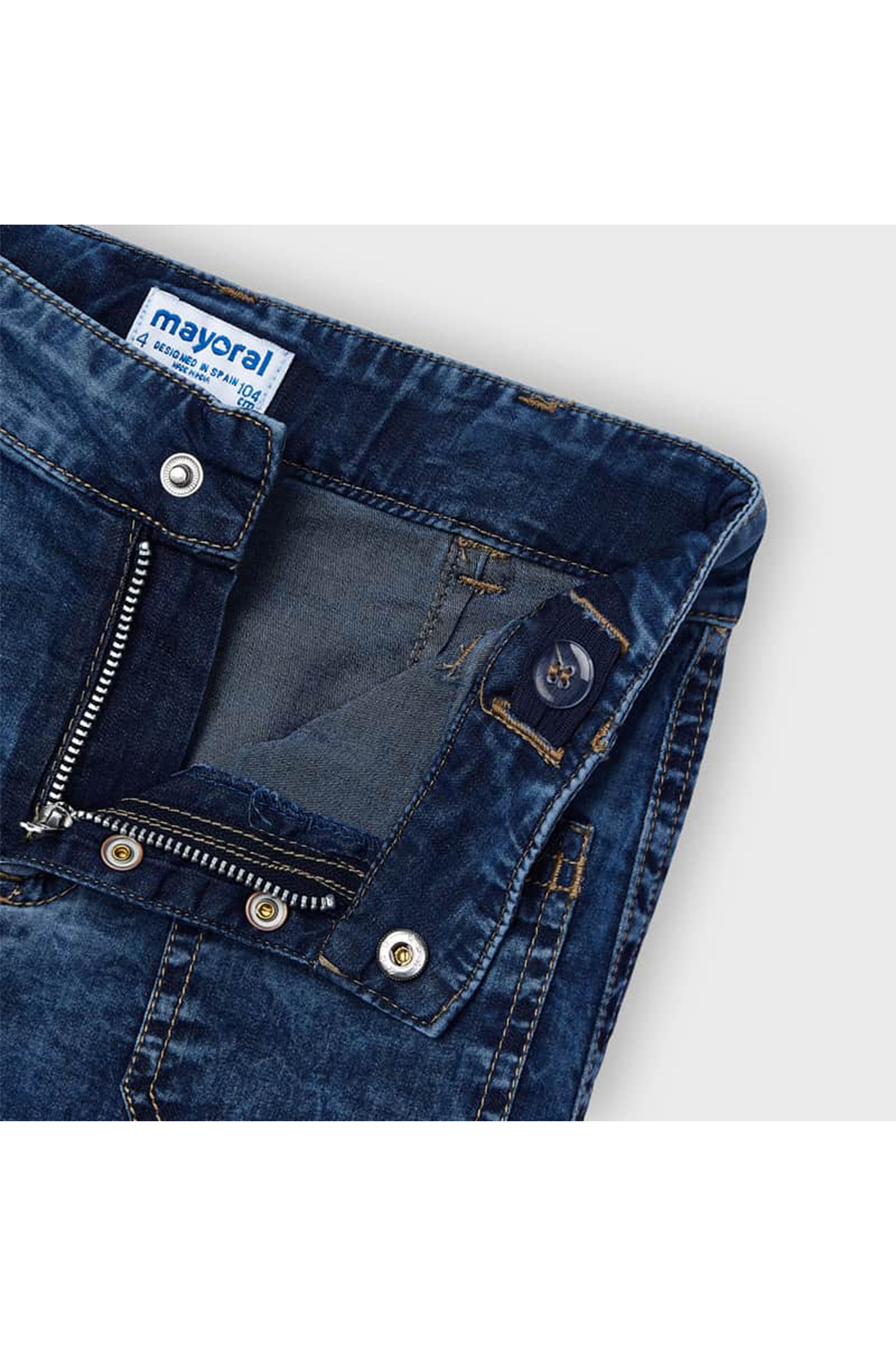 Mayoral Coulotte Pocket Pants With Pockets - Side Cropped Image