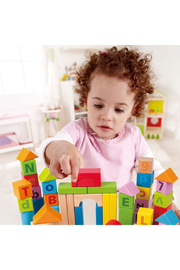 Hape  Count and Spell Blocks - Front full body